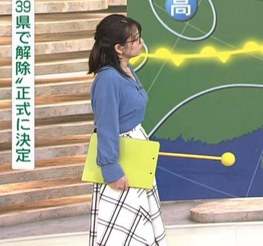 福岡良子 巨乳気象予報士キャプ・エロ画像