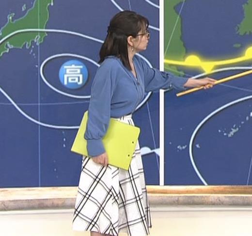 福岡良子 巨乳気象予報士キャプ・エロ画像2