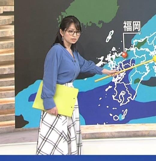 福岡良子 巨乳気象予報士キャプ・エロ画像5