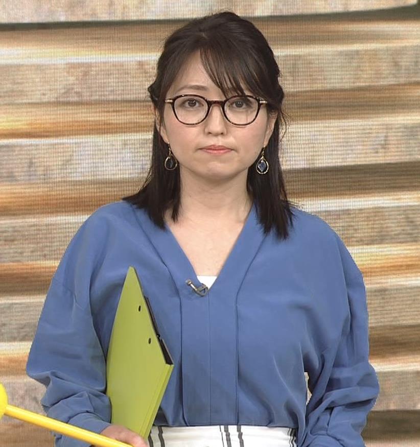 福岡良子 巨乳気象予報士キャプ・エロ画像6