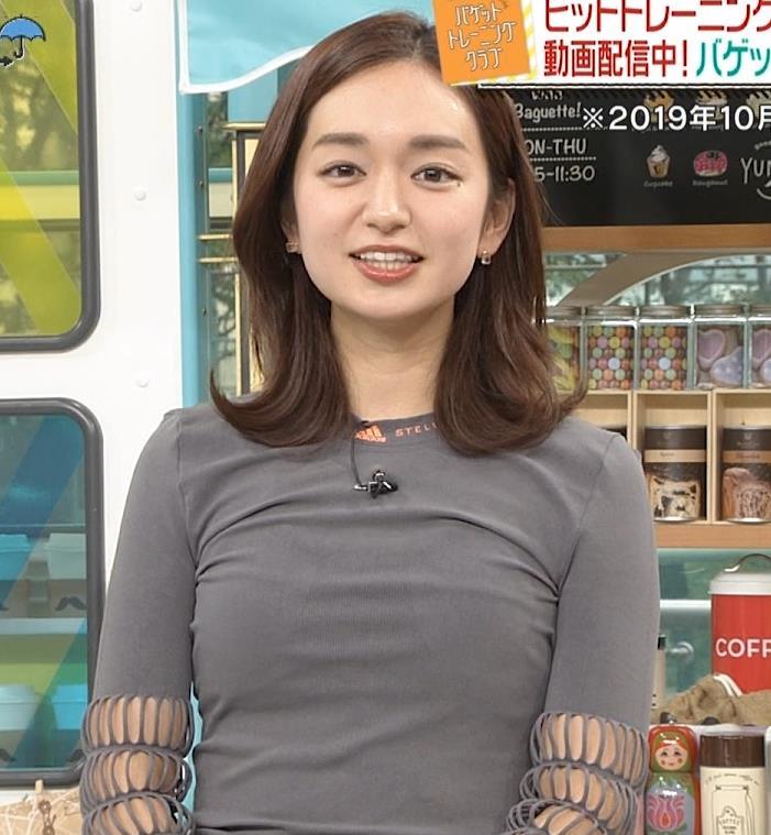 後藤晴菜アナ おっぱいがエロいシャツキャプ・エロ画像2