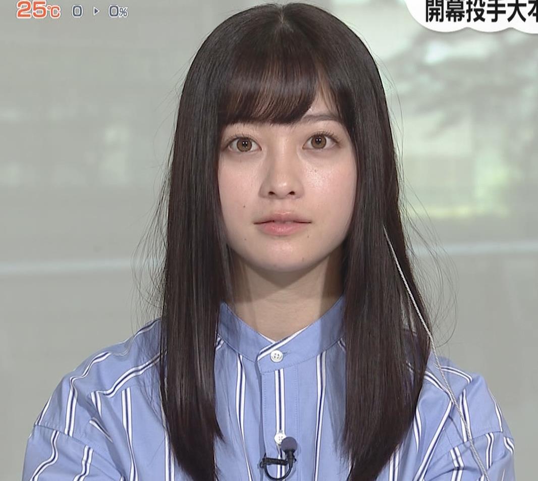 橋本環奈 食べているところキャプ・エロ画像
