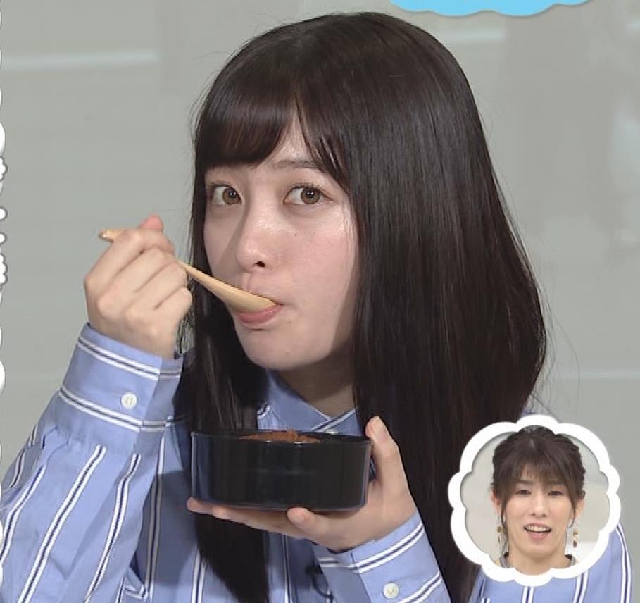 橋本環奈 食べているところキャプ・エロ画像5