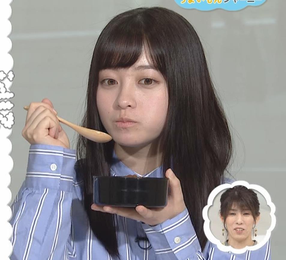 橋本環奈 食べているところキャプ・エロ画像6