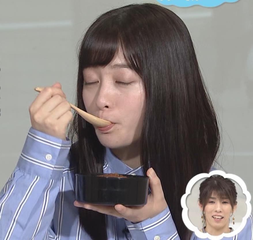 橋本環奈 食べているところキャプ・エロ画像7