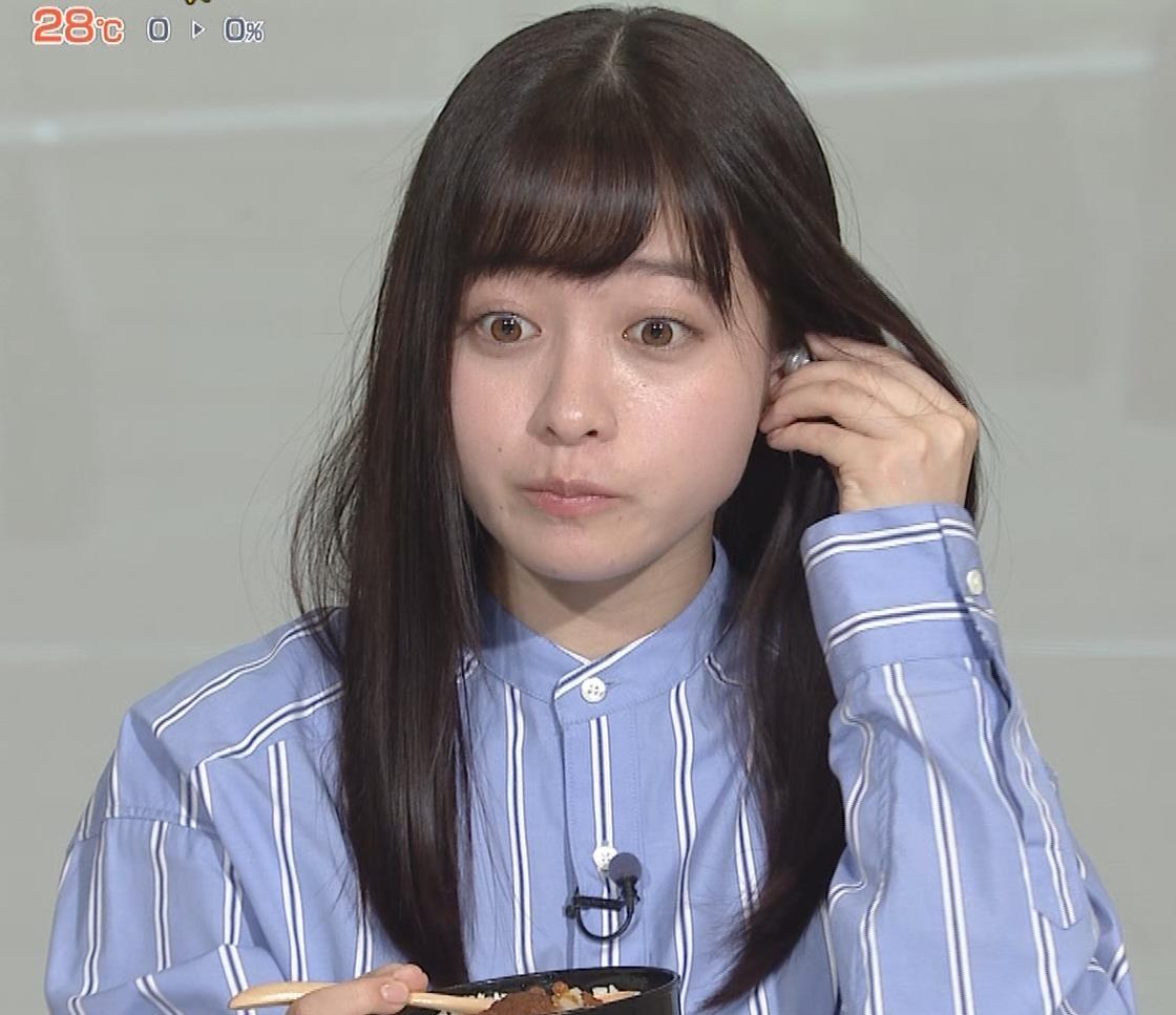 橋本環奈 食べているところキャプ・エロ画像9