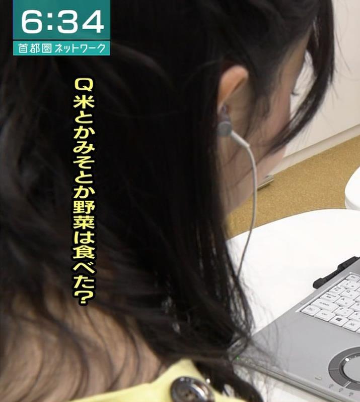 林田理沙アナ かわいいニット姿キャプ・エロ画像3