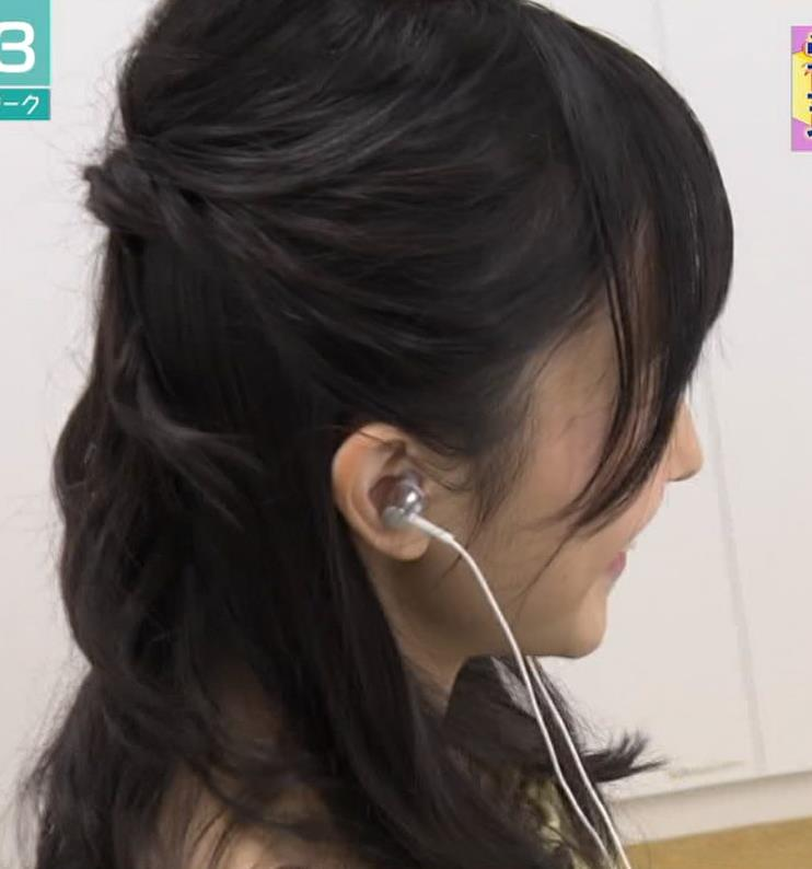 林田理沙アナ かわいいニット姿キャプ・エロ画像4