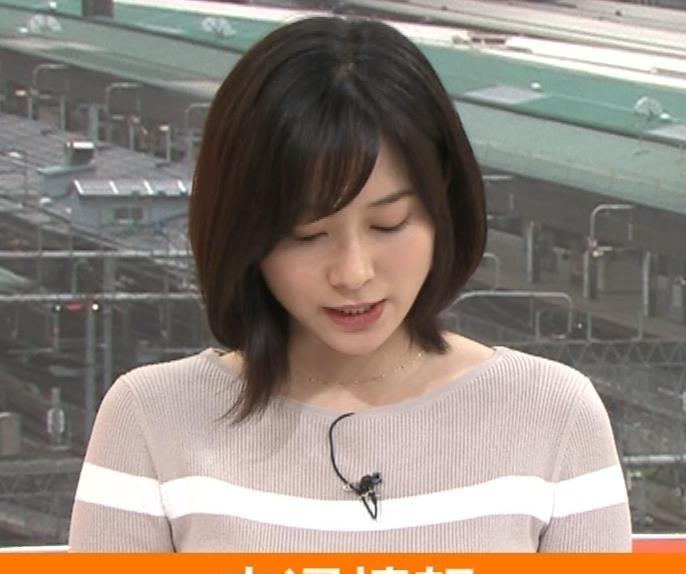 久冨慶子アナ カワイイ笑顔キャプ・エロ画像6