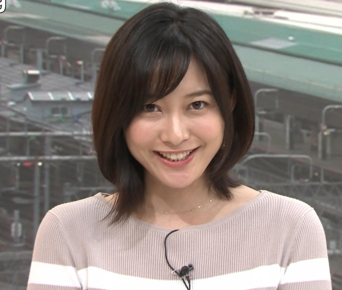 久冨慶子アナ カワイイ笑顔キャプ・エロ画像7