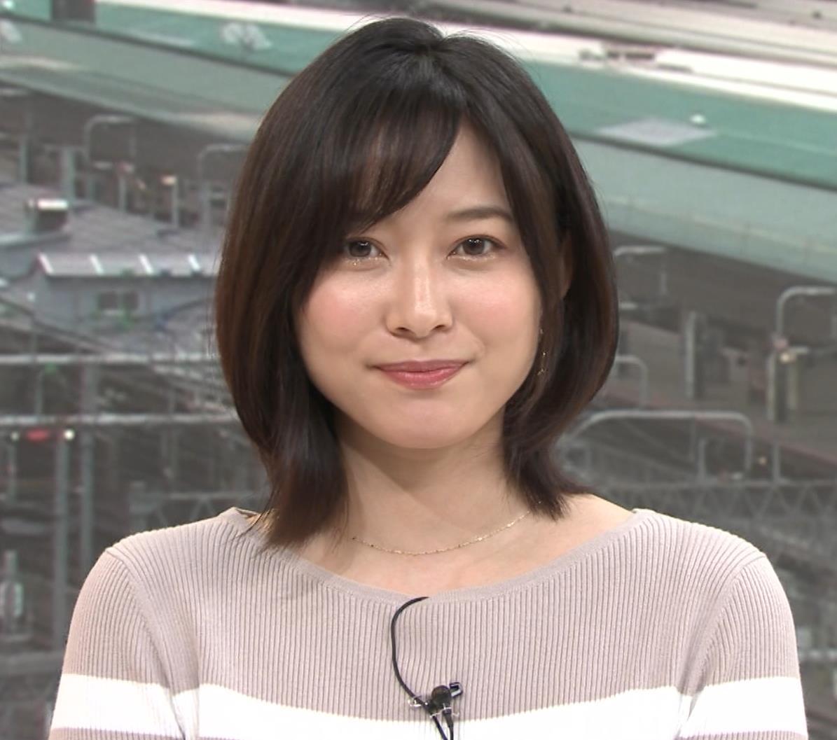 久冨慶子アナ カワイイ笑顔キャプ・エロ画像8
