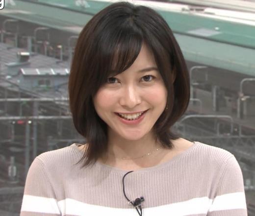 久冨慶子アナ カワイイ笑顔キャプ画像(エロ・アイコラ画像)