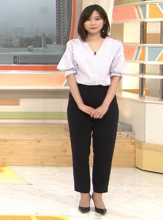 久冨慶子アナ 胸がエロいニットキャプ・エロ画像