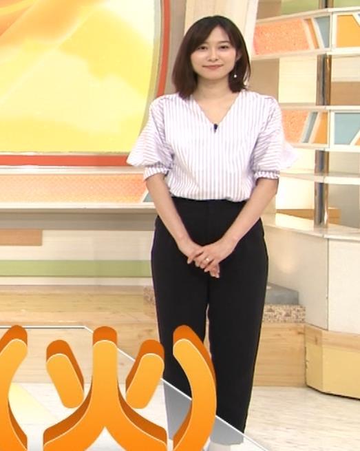 久冨慶子アナ 胸がエロいニットキャプ・エロ画像3
