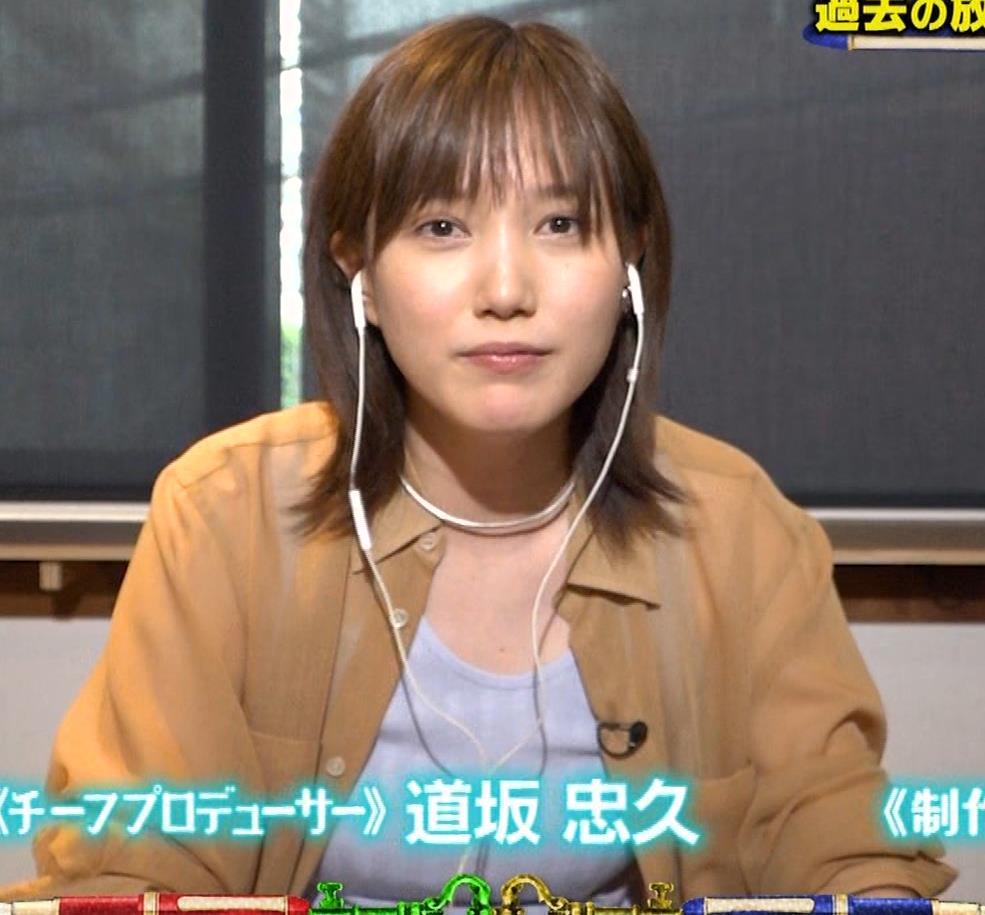 本田翼 Tシャツおっぱいキャプ・エロ画像11