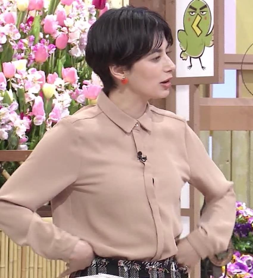 ホラン千秋アナ 太もも、美脚エロキャプ・エロ画像6