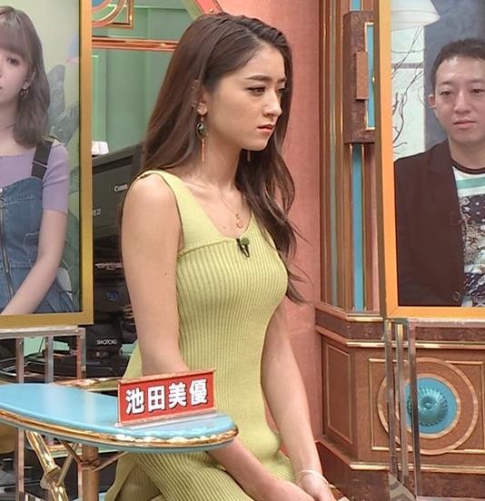 池田美優 エロい体のラインキャプ・エロ画像2