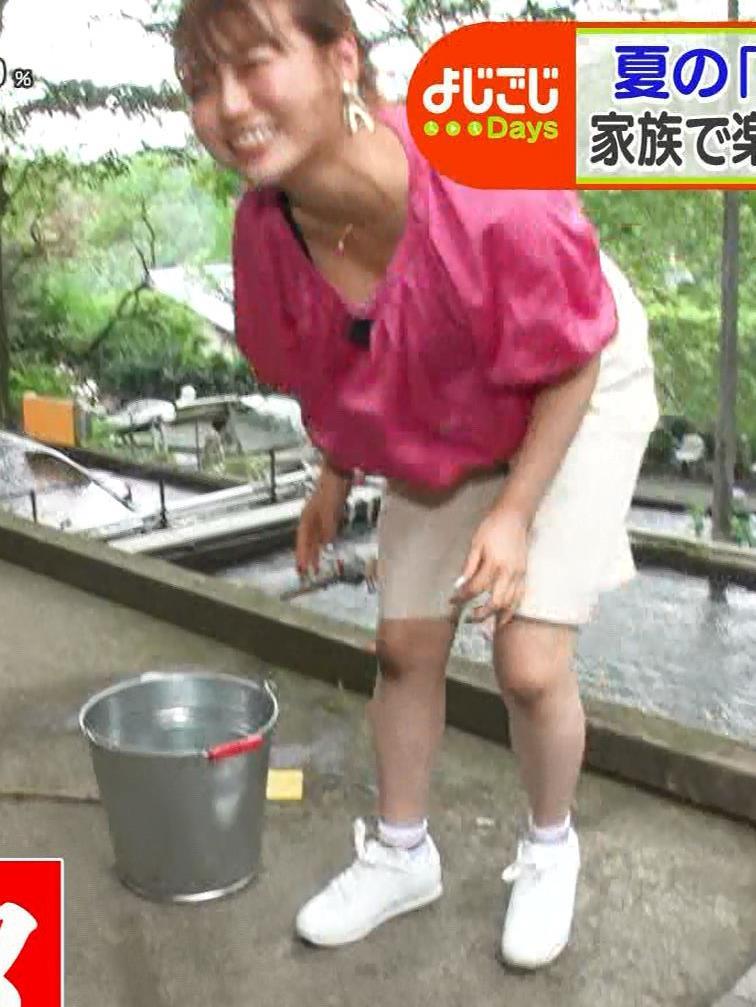 井口綾子 豪快な胸チラキャプ・エロ画像5