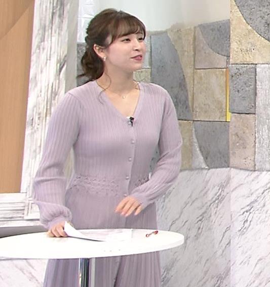 角谷暁子アナ おっぱいがエロいワンピースキャプ・エロ画像5