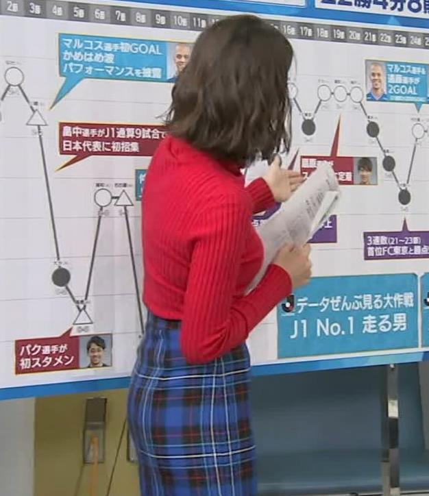 上村彩子アナ おっぱいとお尻がエロい画像キャプ・エロ画像3