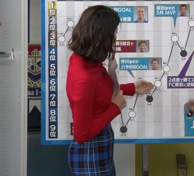 上村彩子アナ おっぱいとお尻がエロい画像キャプ・エロ画像5