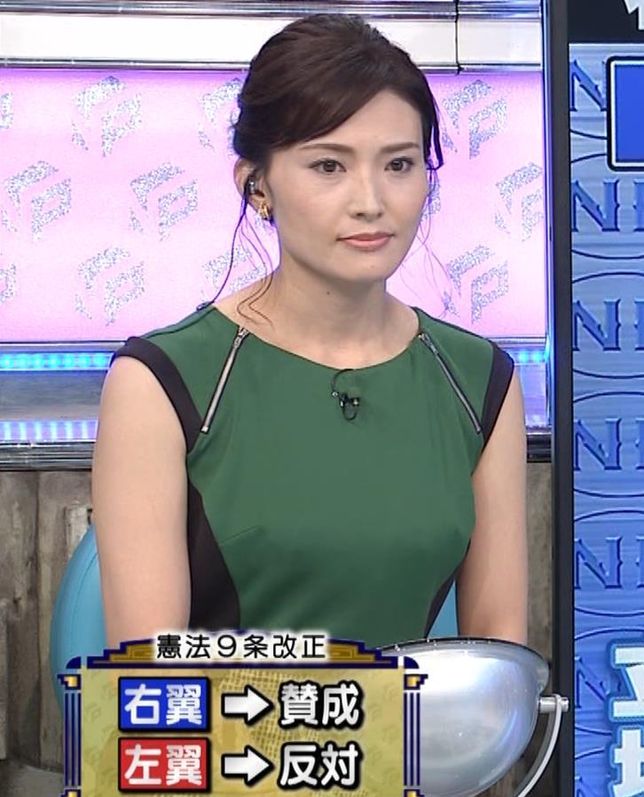 金子恵美 服の縫い目が乳首ポッチに見えるキャプ・エロ画像4
