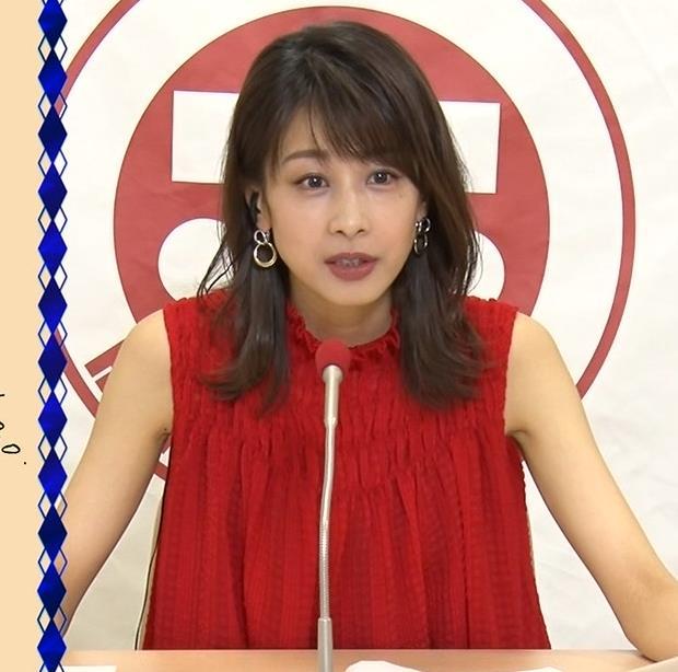 加藤綾子 ノースリーブのワキキャプ・エロ画像6