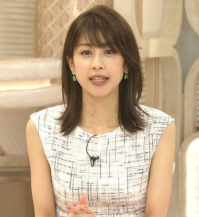 加藤綾子 タイトめなノースリーブキャプ・エロ画像2