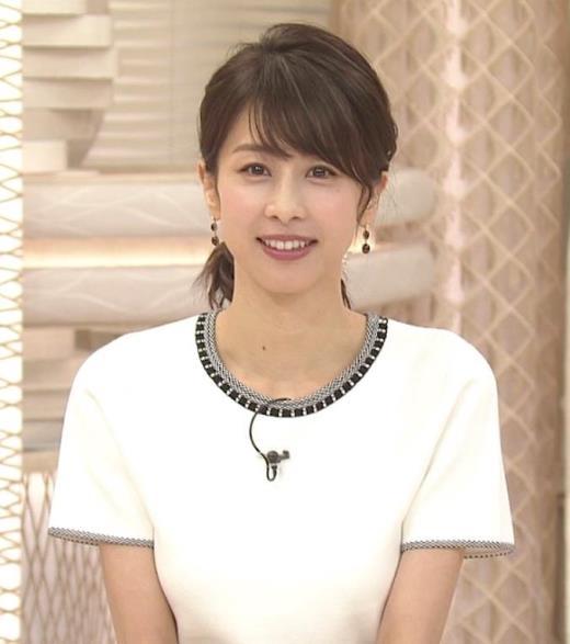 加藤綾子 ちょっと乳を寄せるキャプ画像(エロ・アイコラ画像)