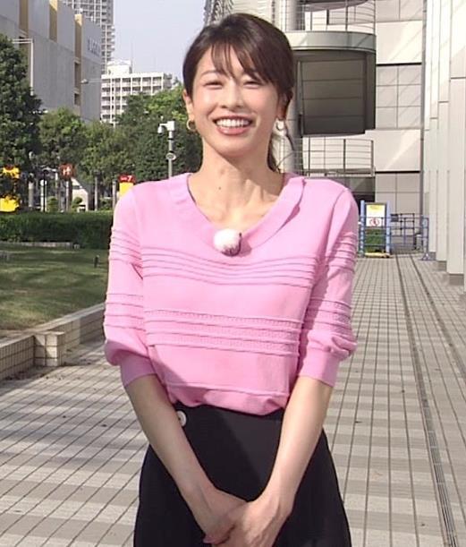 加藤綾子  「Live News it!」 キャプ・エロ画像
