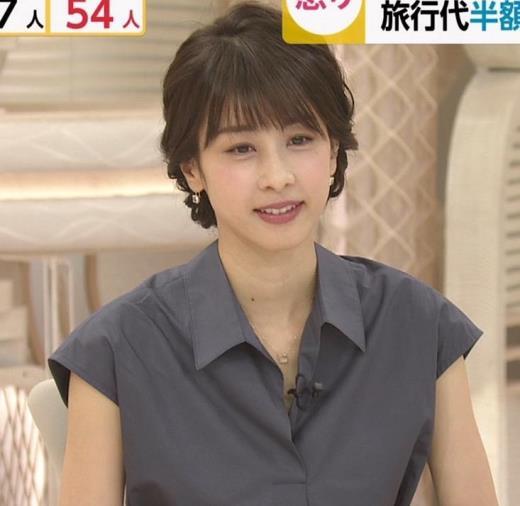 加藤綾子 ほぼノースリーブキャプ画像(エロ・アイコラ画像)