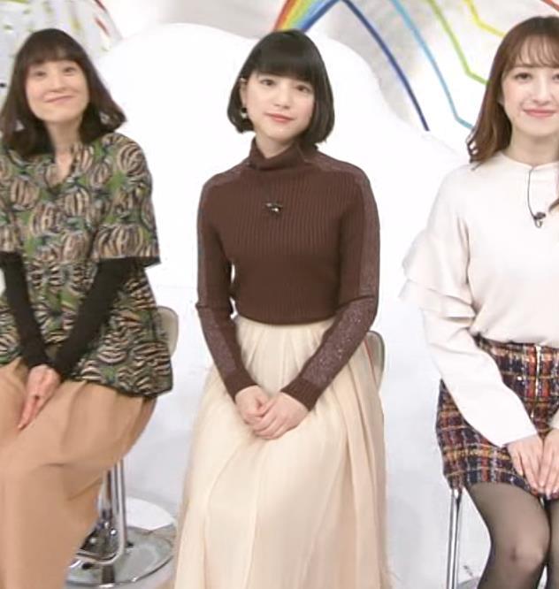 川島海荷 ニット横乳★キャプ・エロ画像2