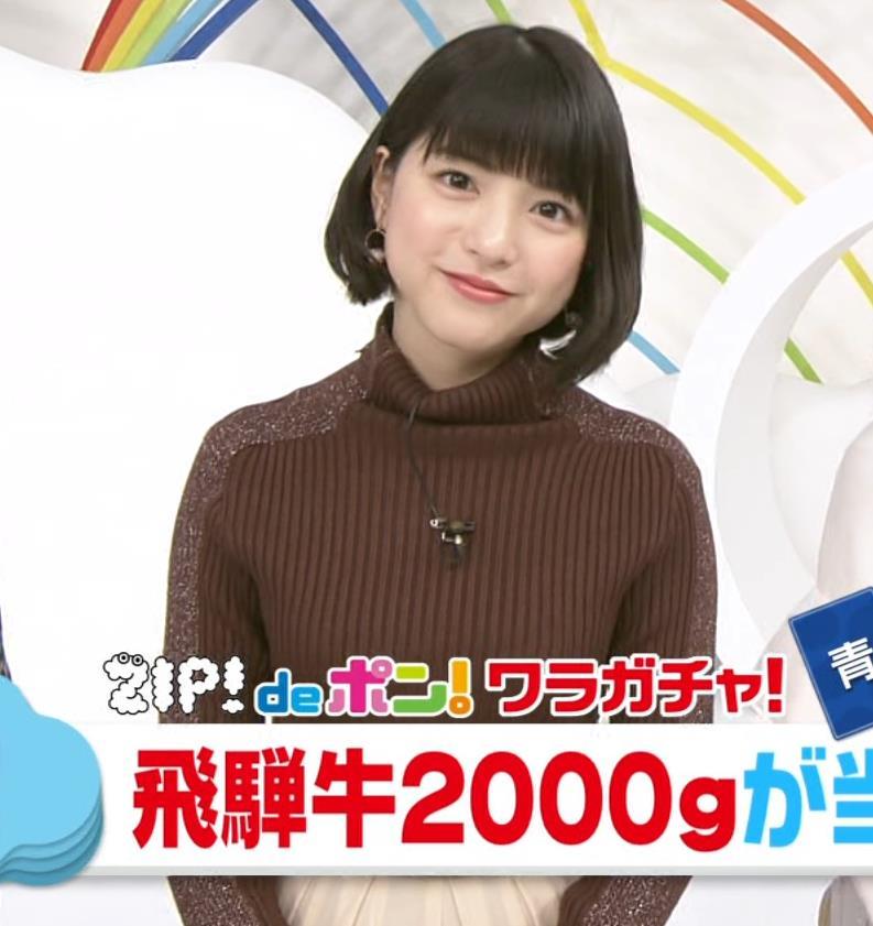 川島海荷 ニット横乳★キャプ・エロ画像4