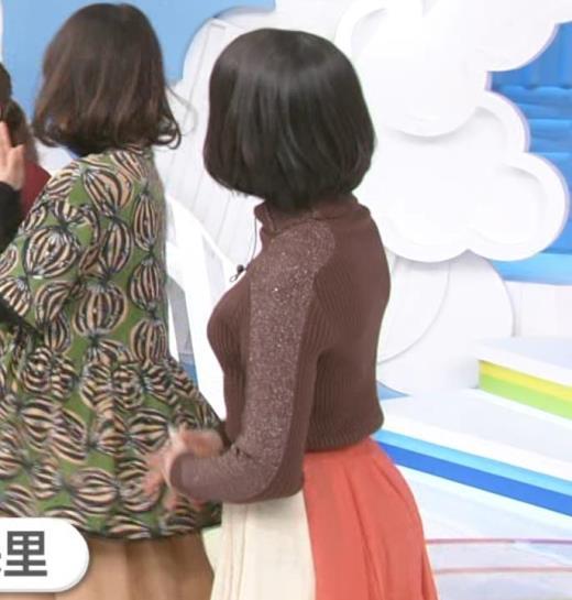 川島海荷 ニット横乳★キャプ画像(エロ・アイコラ画像)