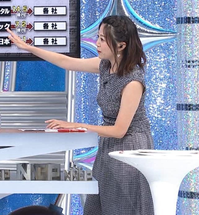 黒木千晶アナ おっぱい強調衣装キャプ・エロ画像7