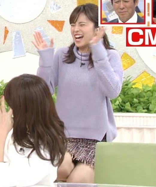久慈暁子アナ 無防備!パンチラ?▼ゾーンキャプ・エロ画像