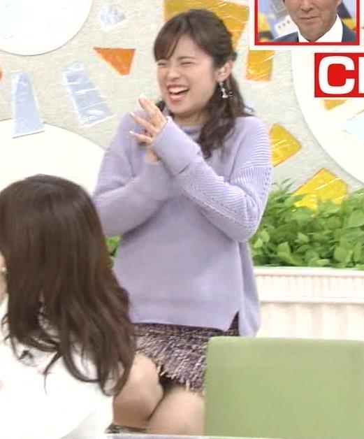 久慈暁子アナ 無防備!パンチラ?▼ゾーンキャプ・エロ画像3