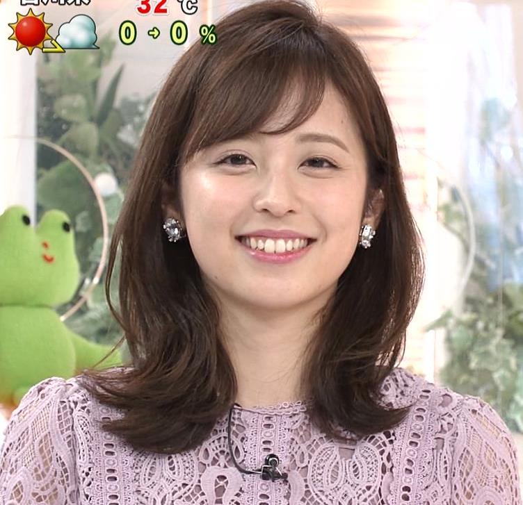 久慈暁子アナ 透け透けなレースのワンピースキャプ・エロ画像5