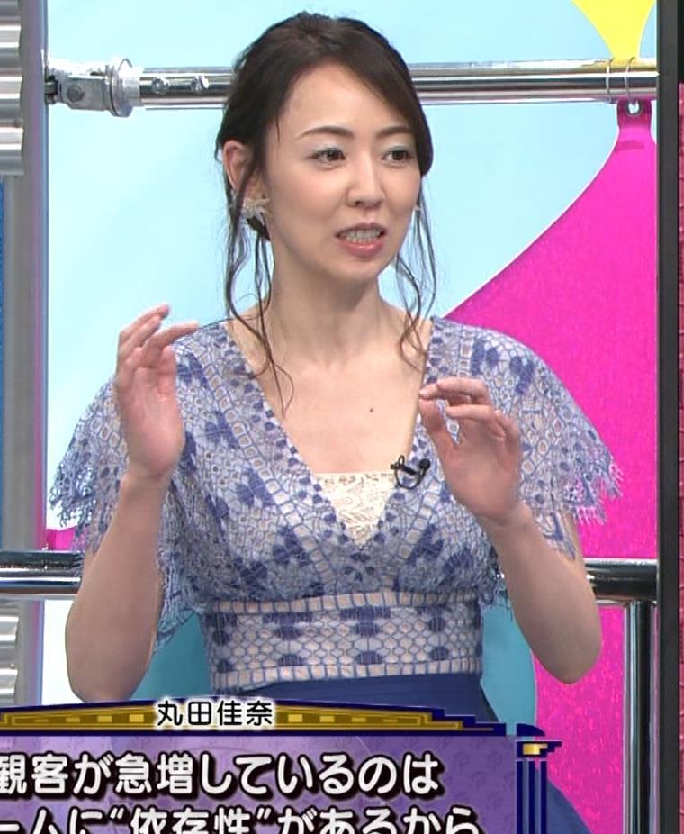丸田佳奈 美人女医の大胆胸元キャプ・エロ画像5