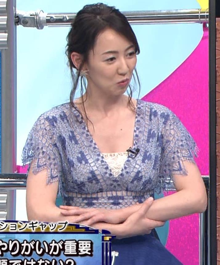 丸田佳奈 美人女医の大胆胸元キャプ・エロ画像10