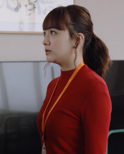 松井愛莉 エロいニットおっぱいキャプ・エロ画像2