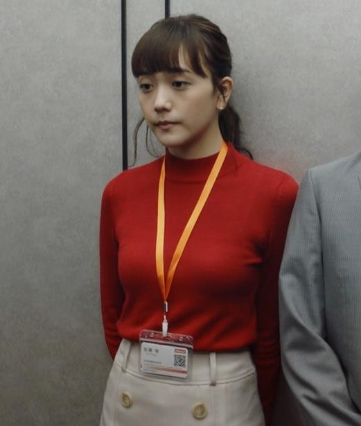 松井愛莉 エロいニットおっぱいキャプ・エロ画像4