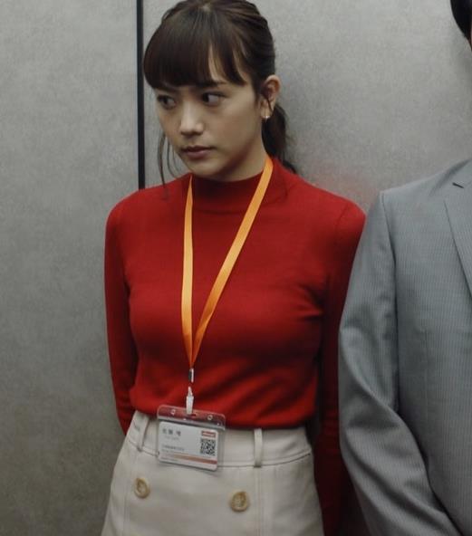 松井愛莉 エロいニットおっぱいキャプ・エロ画像5