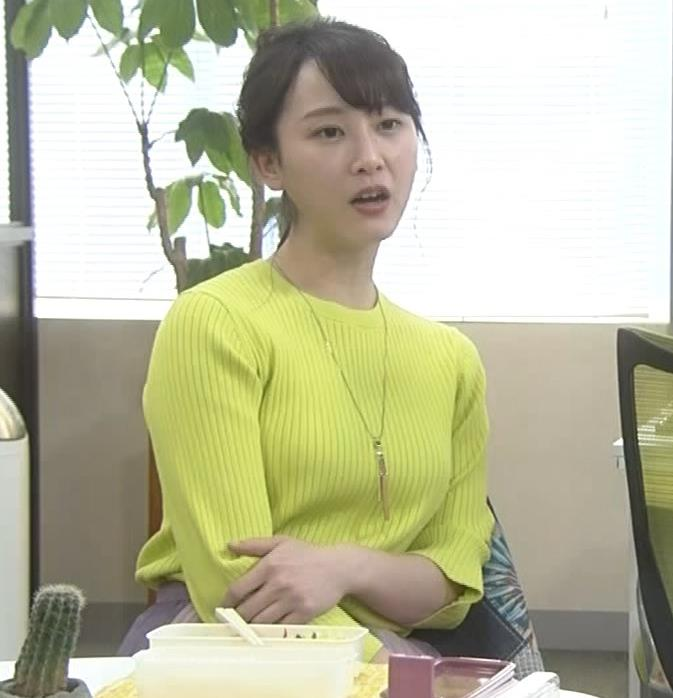 松井玲奈 ニットおっぱいキャプ・エロ画像3