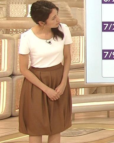 三田友梨佳アナ タイトめなTシャツでおっぱいエロキャプ・エロ画像5