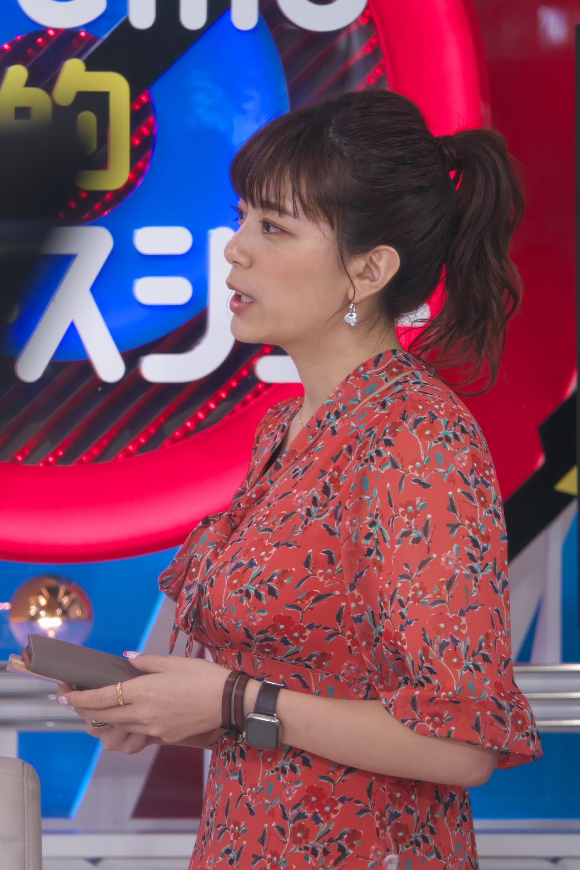 三谷紬アナ このおっぱいの乗り方はエロ過ぎ。[横乳]キャプ・エロ画像5