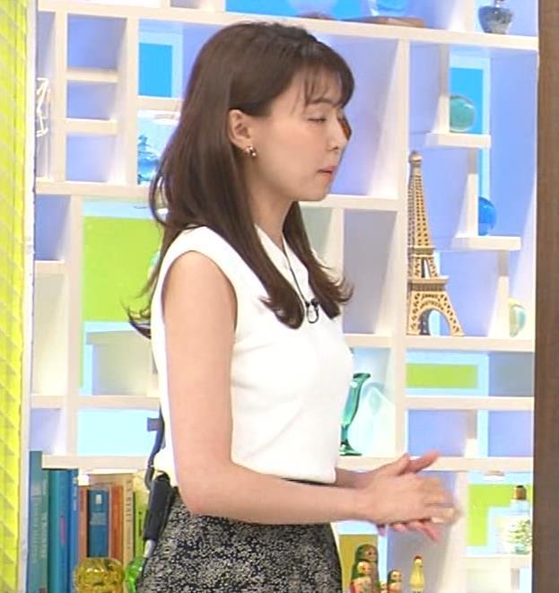 宮澤智アナ ノースリーブでエロいワキキャプ・エロ画像
