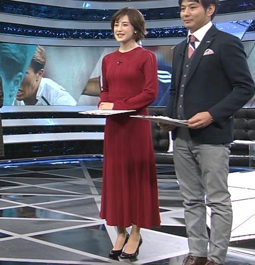 宮司愛海アナ ピチピチなニットでおっぱいがエロいキャプ・エロ画像5
