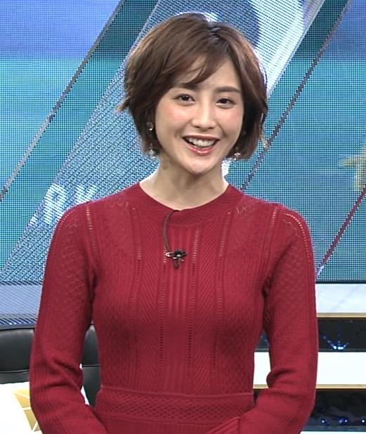 宮司愛海アナ ピチピチなニットでおっぱいがエロいキャプ・エロ画像6