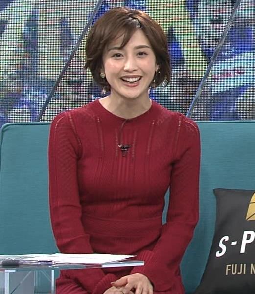 宮司愛海アナ ピチピチなニットでおっぱいがエロいキャプ・エロ画像7